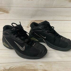 Nike Air Flight Black Basketball Sneakers